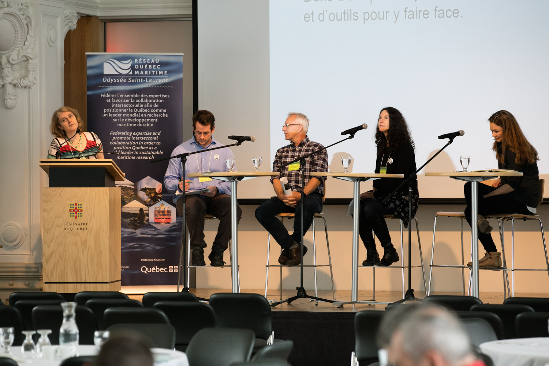 Panel de discussion du Grand forum des communautés résilientes