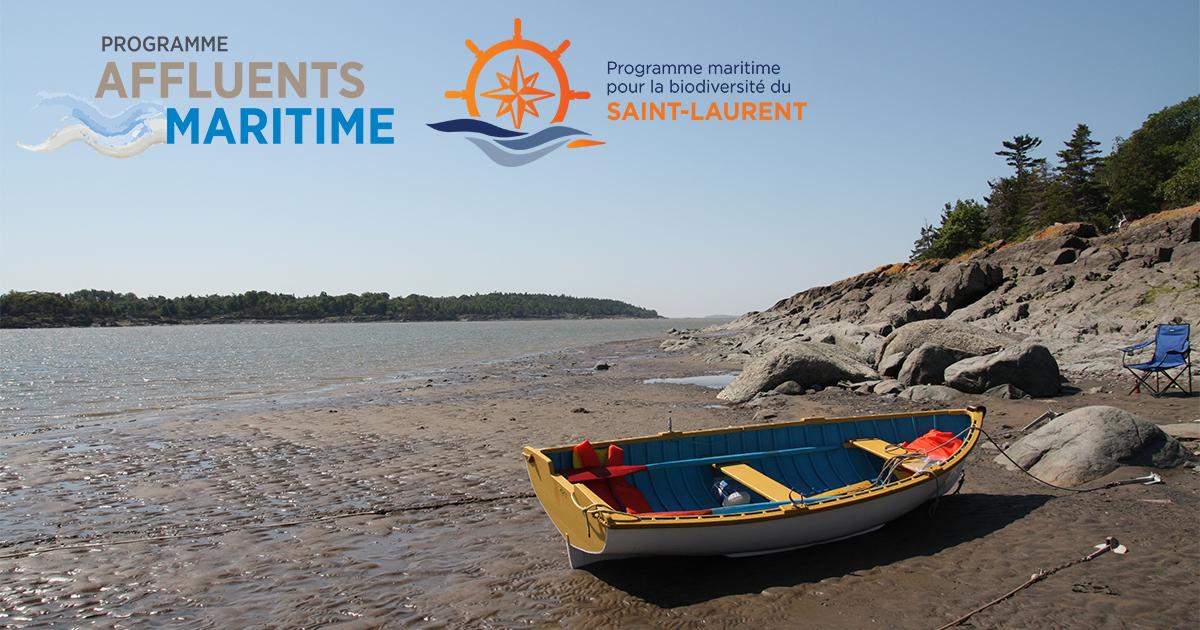 Programme Affluents maritime et Programme maritime pour la biodiversité du Saint-Laurent