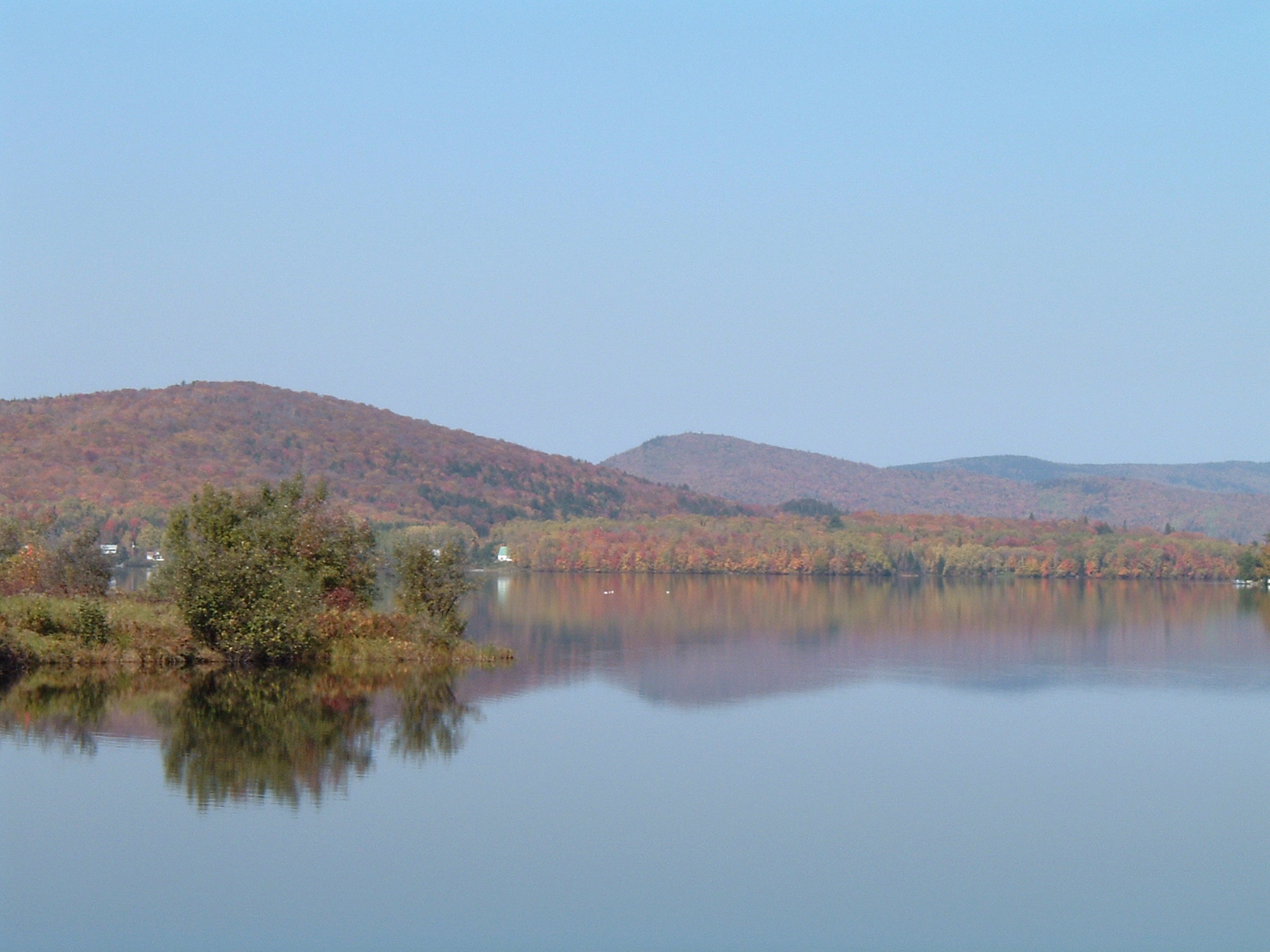 Lac Saint-Charles l'automne -  © OBV de la Capitale