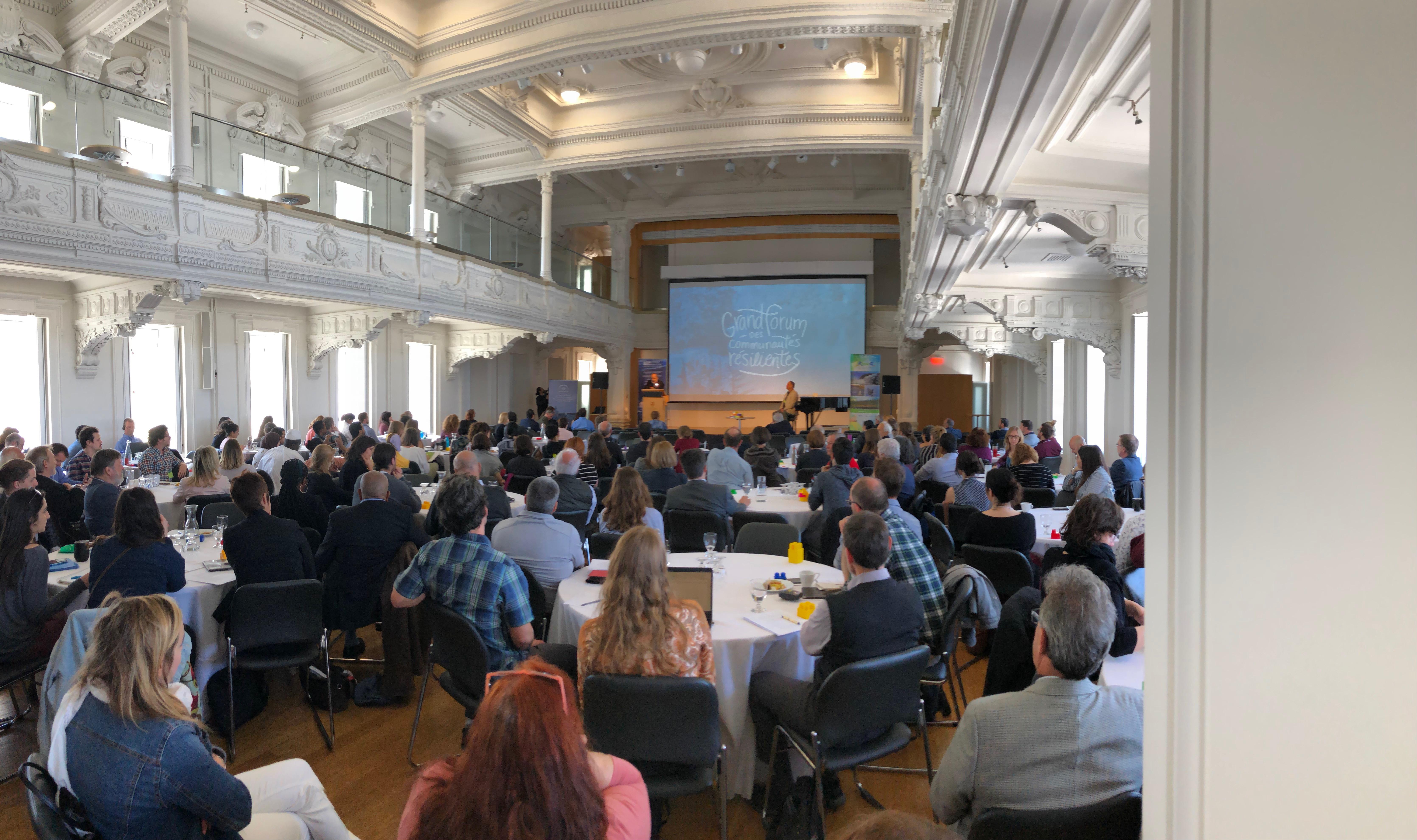 Grand forum des communautés résilientes au Séminaire de Québec